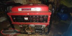 9000watt power tec generator!