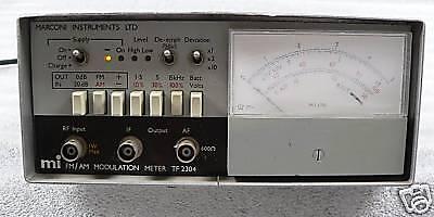 Marconi Fmam Modulation Meter