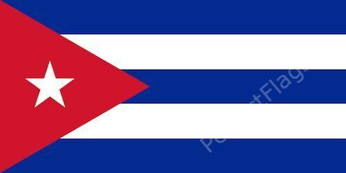 CUBA FLAG - CUBAN NATIONAL FLAGS - Hand, 3x2, 5x3, 8x5 Feet