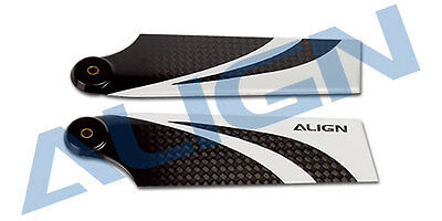 Used, Align Trex 600E/ 600N   95 Carbon Fiber Tail Baldes  HQ0950B for sale  Charlotte