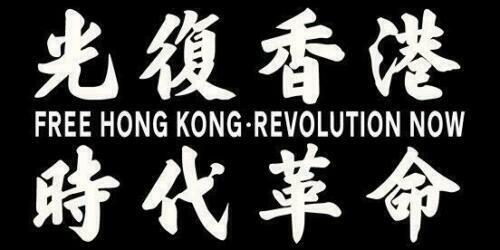 Free Hong Kong Revolution Now Flag | 150 cm x 90 cm | Made In Taiwan
