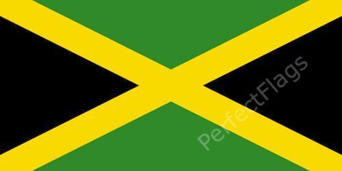 JAMAICA FLAG - JAMAICAN NATIONAL FLAGS - Hand, 3x2, 5x3, 8x5 Feet