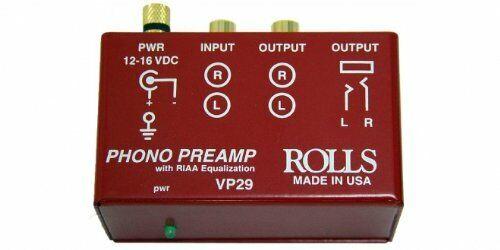 Rolls VP29 - Phono Preamp