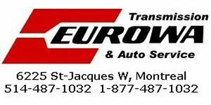 Transmission repairs to Mercedes Benz B200