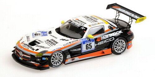1:43 Mercedes SLS n°65 Nurburgring 2012 1/43 • MINICHAMPS 437123265