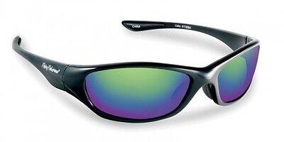 ea49e06037 Flying Fisherman Cabo Sunglasses - Black Amber Green Mirror 7735BA New  Unwrapped
