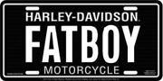 Harley Davidson Fatboy License Plate