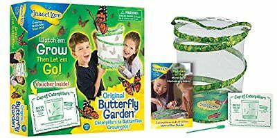 Insect Lore Butterfly Growing Kit Toy   Includes Voucher Coupon For 5 Live Cater
