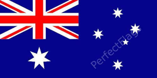 AUSTRALIA FLAG - AUSTRALIAN NATIONAL FLAGS - Hand, 3x2, 5x3, 8x5 Feet