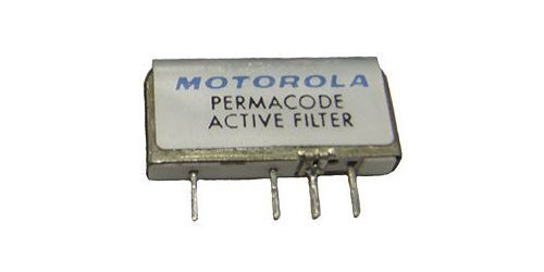 Motorola Minitor II 2 Fire EMS Police Pager Tone Reed Filter Active Permacode