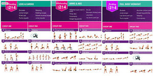 KAYLA ITSINES BBG 1 & 2 WORKOUT & NUTRITION GUIDE Regina Regina Area image 4