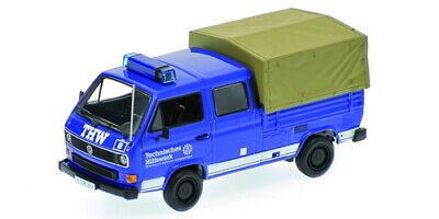 1:43 Volkswagen T3 Doka THW 1983 1/43 • MINICHAMPS 400055290