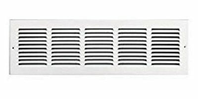 NEW RETURN AIR GRILLE AMERIFLOW VENT COVER 36 INCH LONG 4 IN TALL WHITE REGISTER
