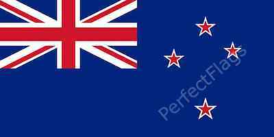 NEW ZEALAND FLAG - KIWI NATIONAL FLAGS - Hand, 3x2, 5x3, 8x5 Feet