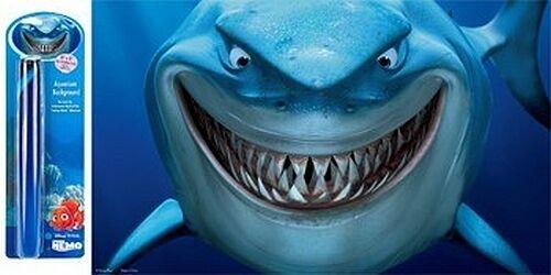 60 x 40cm Bruce Shark Nemo Aquarium Background Fish Tank Backing Paper Poster