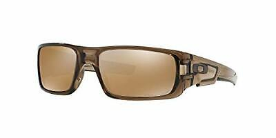 Oakley Men's OO9239-07 Crankshaft Brown Smoke Iridium Polarized Sunglasses 60 mm
