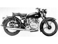 Wanted Vincent Comet 500 or Vincent 1000cc