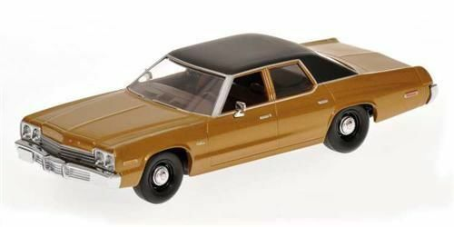 1:43 Minichamps 400144772    1974 Dodge Monaco - goldmet.