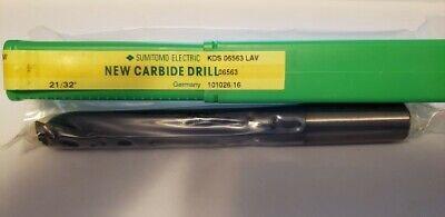 Sumitomo Kds06563 Lav 2132 Carbide Drill