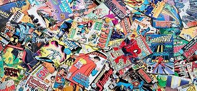 1 box comic lot of 50 comics Marvel DC Indy Superman Batman X-Men Spider-Man