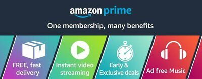 Amazon Prime 6 Months ✅ USA Verified Account ✅ 100% Genuine Student (Usa Student)