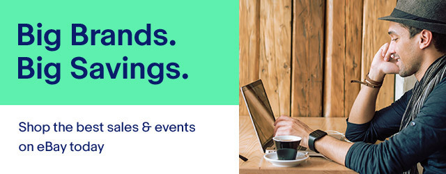 Big brands. Big savings. Shop the best Sales & Events on eBay.