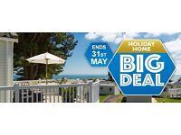 **Static caravans for sale** Great offer for Golden sands and Dawlish Sands holiday park