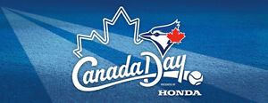 Canada Day Tickets - Blue Jays vs Red Sox