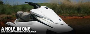 2015 Yamaha VX Deluxe WaveRunner PWC w/ 20Hrs & EasyHauler Trlr