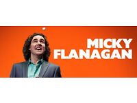 2 x MICKY FLANAGAN TICKETS - BARCLAYCARD ARENA 1st JUNE - BLOCK 05 (UPPER)