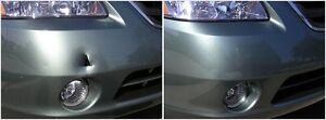 Bumper replacement and fix