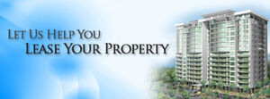 NEED TO LEASE YOUR PROPERTY? CALL 416-573-1702