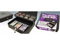 The 'Ultimate Cash Box' accommodates £5, £10 and £20 UK and also Euro banknotes