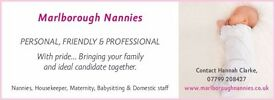 EXPERIENCED LIVE IN / LIVE OUT NANNY / HOUSEKEEPER REQUIRED IN OXENWOOD WILTSHIRE