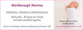 EXPERIENCED PART TIME, TERM TIME ONLY NANNY REQUIRED IN RAMSBURY, WILTSHIRE