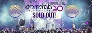 SHAMBHALA MUSIC FESTIVAL TICKETS