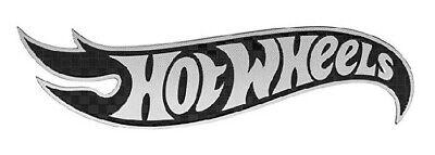 Hot Wheels Carbon Fiber Emblem Flame Logo Automotive Custom Motorcycle HOT-0004