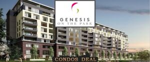 BRAMPTON CONDOS - GENESIS ON THE PARK - PLATINUM SALE