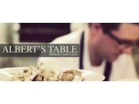 Waiter/Waitress - Alberts Table Restaurant