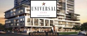PICKERING CONDOS - UNIVERSAL CITY CONDOS - PLATINUM SALE