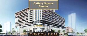 Markham Condos - Gallery Square Condos - PLATINUM SALE