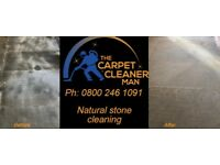 Carpet cleaning, upholstery cleaning, stone & tile cleaning, karndean/amtico floor clean & seal