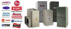 NEW FURNACE AFTER REBATE: $999
