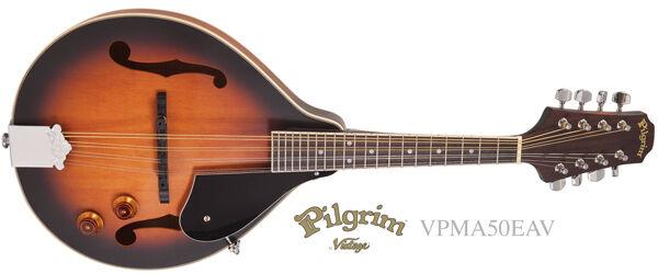 Pilgrim Redwood Series VPMA50EAV A-STYLE ELECTRO-ACOUSTIC MANDOLIN
