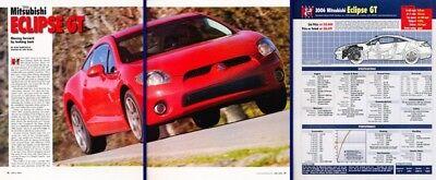 Eclipse Car Review - 2006 Mitsubishi Eclipse GT Original Car Review Report Print Article K32