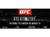 UFC London - PREMIUM SEATS - 4 Available (will sell in pairs)