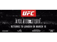 UFC London - PREMIUM SEATS - 4 available