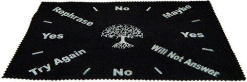 Large Velveteen Tree of Life Pendulum Dowsing Divination wicca Mat FREE SHIP