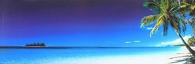 Beach Morning Poster Kunstdruck Bild 91x30cm