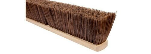 "Magnolia Brush #1230 30"" Polypalm Plastic Pro Series Garage Push Broom Head"